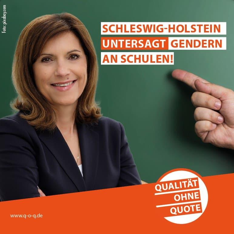 Schleswig Holstein Gendern Schulen untersagt